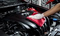 Motorwäsche inkl. Kunststoffpflege im Motorraum